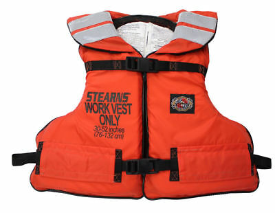 Stearns Universal Life Jacket Type III / V Adult Work Vest USCG Approved