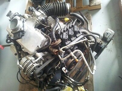 Holden Commdore VY 3.8L V6 Engine Gearbox Complete Ecotech with Transmission