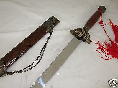 New Chinese tai chi sword [Machete/Dagger/Knife/Sword/Weapon] A182