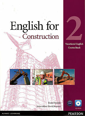 Pearson ENGLISH FOR CONSTRUCTION 2 Course Book with CD-ROM @NEW@
