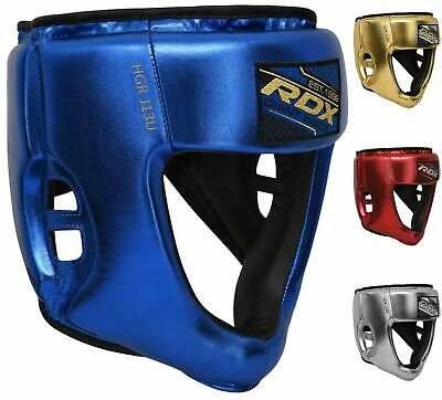 RDX Leather Punch Bag Speed Double End Dodge Ball MMA Boxing Floor to Ceiling AU