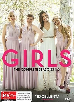 Girls the Complete Series Season 1, 2, 3, 4 & 5 DVD Box Set R4 New Sealed
