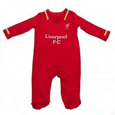 Liverpool Sleepsuit 9/12 Months Babygrow Gift Official Licensed Football Product