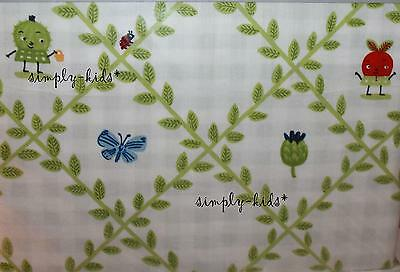 IKEA Torva Blad Crib Quilt Cover and Pillow Case 43 x 49 Green Unisex Child New