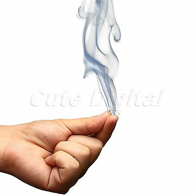 Mystic Gimmick Finger Smoke Magic Trick Fantasy Stand-up Illusion Stage Close-Up