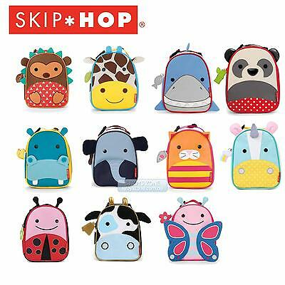 Skip Hop Little Kid Zoo Lunch Bag For PreSchool Boys & Girls