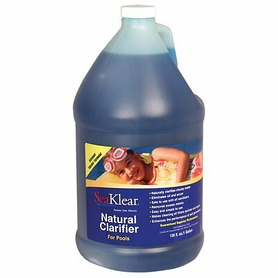 SeaKlear SKPCG Natural Clarifier For Pools, Pool Water Cleaner, 1 Gallon Bottle