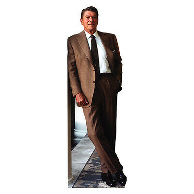 RONALD REAGAN President Lifesize Ronnie CARDBOARD CUTOUT Standee Standup Poster