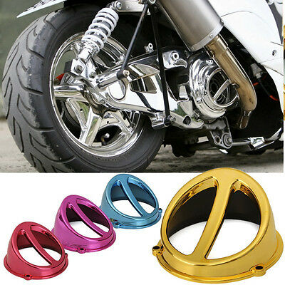Chrome Fan Cover Air Scoop Cap For Motorcycle Chinese Scooter Gy6 50 125cc 150cc