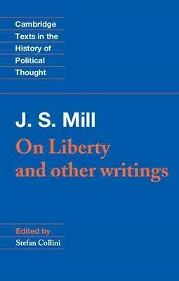 J. S. Mill: 'On Liberty' and Other Writings 9780521379175 by John Stuart Mill
