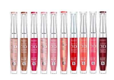 Bourjois Effect 3D Lipgloss * Choose Colour * Brand Newe *