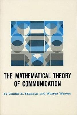 Mathematical Theory of Communication 9780252725487 by C.E. Shannon, Paperback