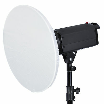 """2x Pure White Translucent Diffuser Sock for 12-16""""/30-41cm Beauty Dish Reflector"""