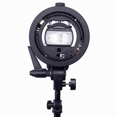 Neewer S-type Flash Speedlite Bracket with Elinchrom Mount for Speedlight