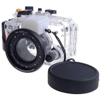 Neewer 60m 165ft Underwater PC Housing Camera Waterproof Case for SONY RX100M3