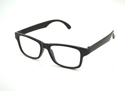 READING GLASSES 1.0 to 4.0 Unisex Mens Ladies Trendy Designer Black Frame