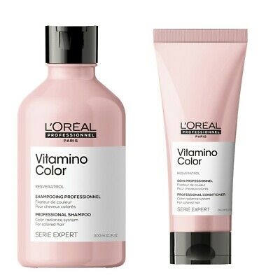 Loreal Vitamino Colour Shampoo 250 ml and Conditioner 150ml Color Duo Pack