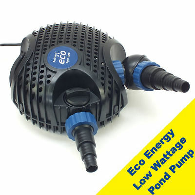 Jebao EMP Dual Twin Inlet Low Wattage Eco Energy Pond Filter Pump Submersible