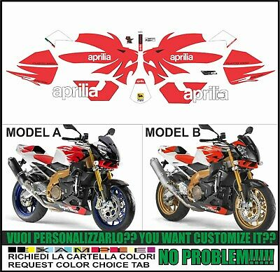 kit adesivi stickers compatibili  tuono 1000 r factory 2006