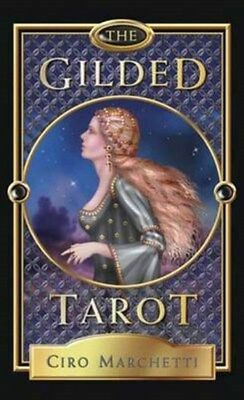 Gilded Tarot Deck 9780738734248 by Ciro Marchetti, Cards, BRAND NEW FREE P&H