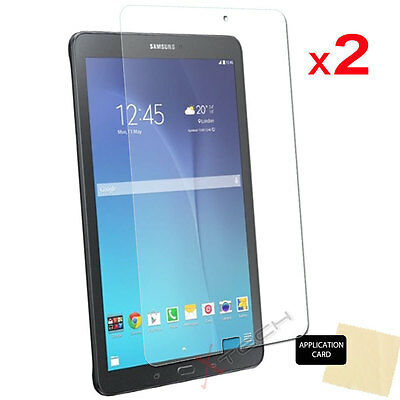 2x CLEAR Screen Protector Covers for Samsung Galaxy Tab E 9.6 Inch SM-T560 T565