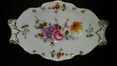 Ancien Cendrier Vide Poche Porcelaine Chine Royal Crown Derby Anglaise England