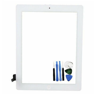New White Touch Screen Digitizer Replacement Front Glass Display For iPad 3 UK