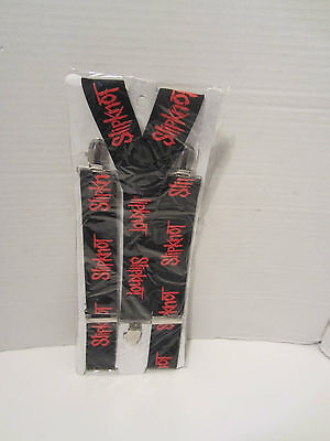 Suspenders  Black With Slipknot  On Them  Punk Rock Emo Gothic