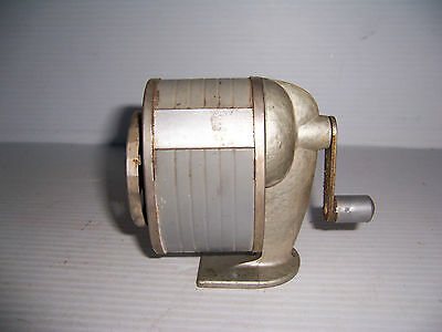 Vintage Six Hole Pencil Sharpener Wall Desk Mount School Office