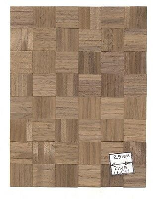 "Wood Parquet Flooring Sheet dollhouse CLA73144 1/12 scale 6""x8"""
