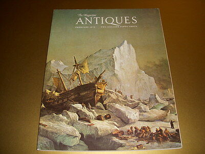 Vintage, THE MAGAZINE ANTIQUES, February, 1975, PAINTINGS OF ABRAHAM LINCOLN!
