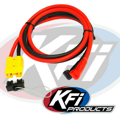 kfi winch replacement solenoid contactor switch atv utv 2500 3000 kfi 20 quick connect battery cable for contactor end