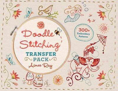 Doodle Stitching Transfer Pack: 300+ Embroidery Patterns 9781454709022, NEW