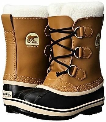 Sorel Yoot Pac TP NY1880-259 Kids Youth TP Mesquite Winter Waterproof Fur Boots