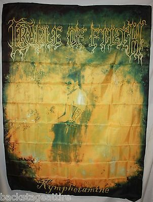 CRADLE OF FILTH Nymphetamine 3' x 4' Cloth Fabric Poster Flag Wall Tapestry-New!