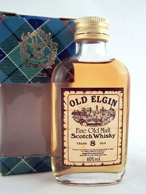 Miniature @ 1969 OLD ELGIN 8YO Malt Whisky Isle of Wine