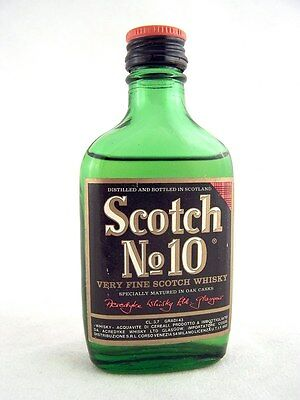 Miniature @ 1969 SCOTCH No10 Whisky Isle of Wine