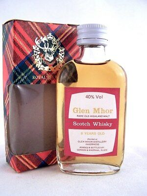 Miniature @ 1969 GLEN MHOR 8YO Malt Whisky Isle of Wine