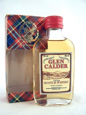 Miniature @ 1975 GLEN CALDER Scotch Whisky Isle of Wine