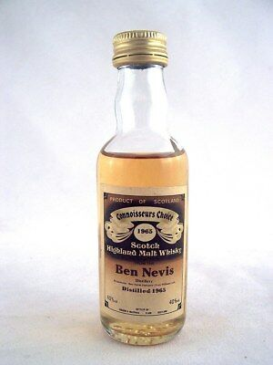 Miniature dated 1965 BEN NEVIS Malt Whisky Isle of Wine