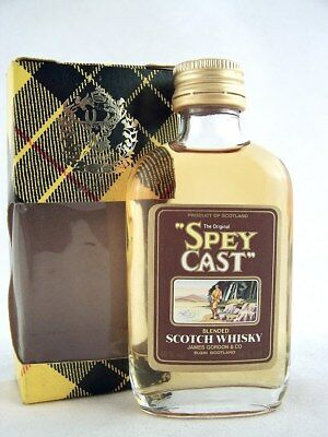 Miniature @ 1974 SPEY CAST Scotch Whisky Isle of Wine