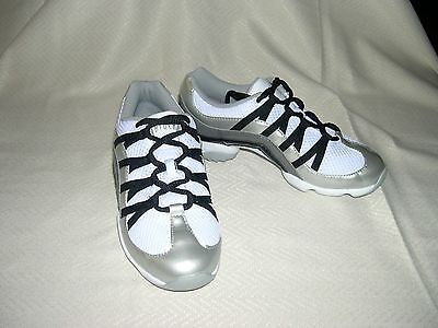 Bloch Silver Wave Dance Sneaker S0523L - NEW, Women, US 7.5, UK 4.5