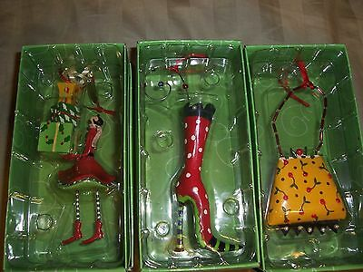 Lot of 3 Department 56 Lollysticks collectable ornaments NEW NIB