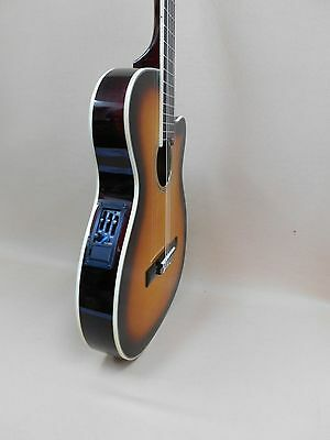 Caraya THIN-Body Classical Guitar with EQ Sunburst C-551BCEQ + Gig Bag
