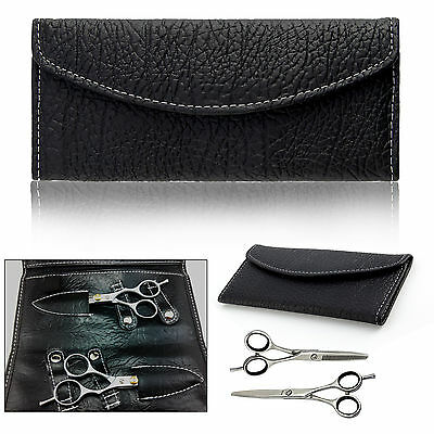 "6"" Professional Hair Cutting & Thinning Scissors Shears Hairdressing Set + Case"