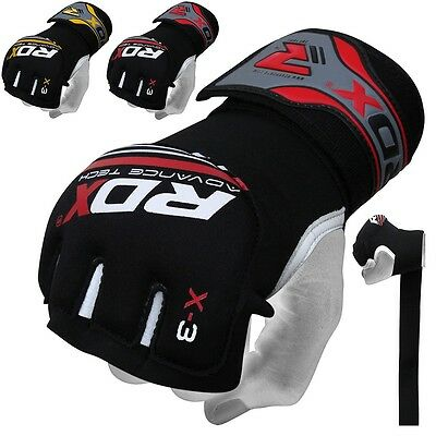 RDX GEL Hand Wraps Grappling Gloves MMA,Boxing Mexican Muay Thai Punch Bag AU