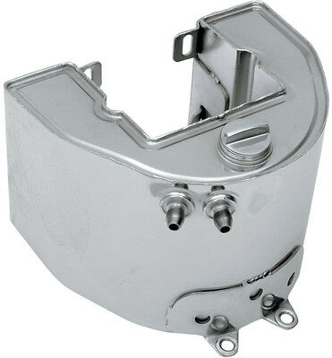Drag Specialties 3 Quart Oil Tank for Swingarm Frame For Harley Raw 0710-0138