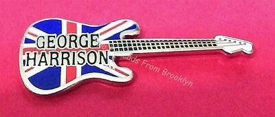Beatles George Harrison Guitar Pin Limited!!