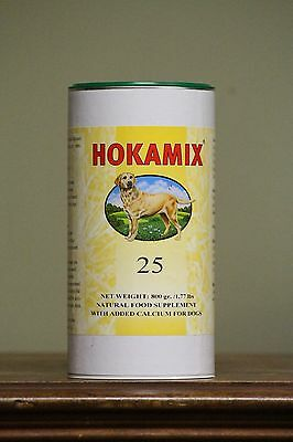 Hokamix 25     #1 Herbal Pet Supplement in all the World!! 800gr / 1.76 Lb Tub