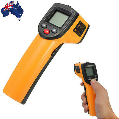 Non-Contact Laser LCD Display Digital IR Infrared Thermometer -50℃ to 330℃ ETHGM
